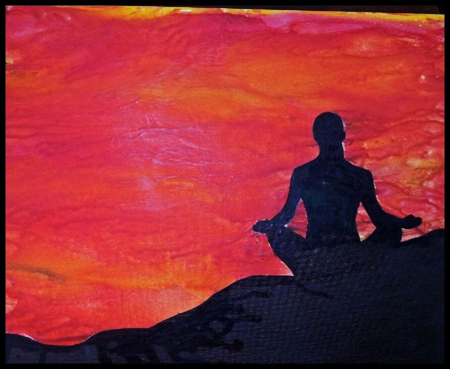 Yoga melted crayon art my melted crayon art creations pinterest yoga melted crayon art solutioingenieria Image collections