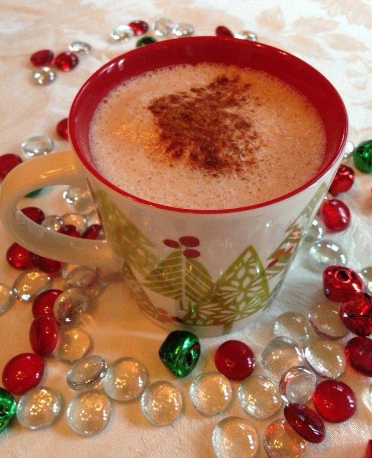 Homemade Gingerbread Chai Latte