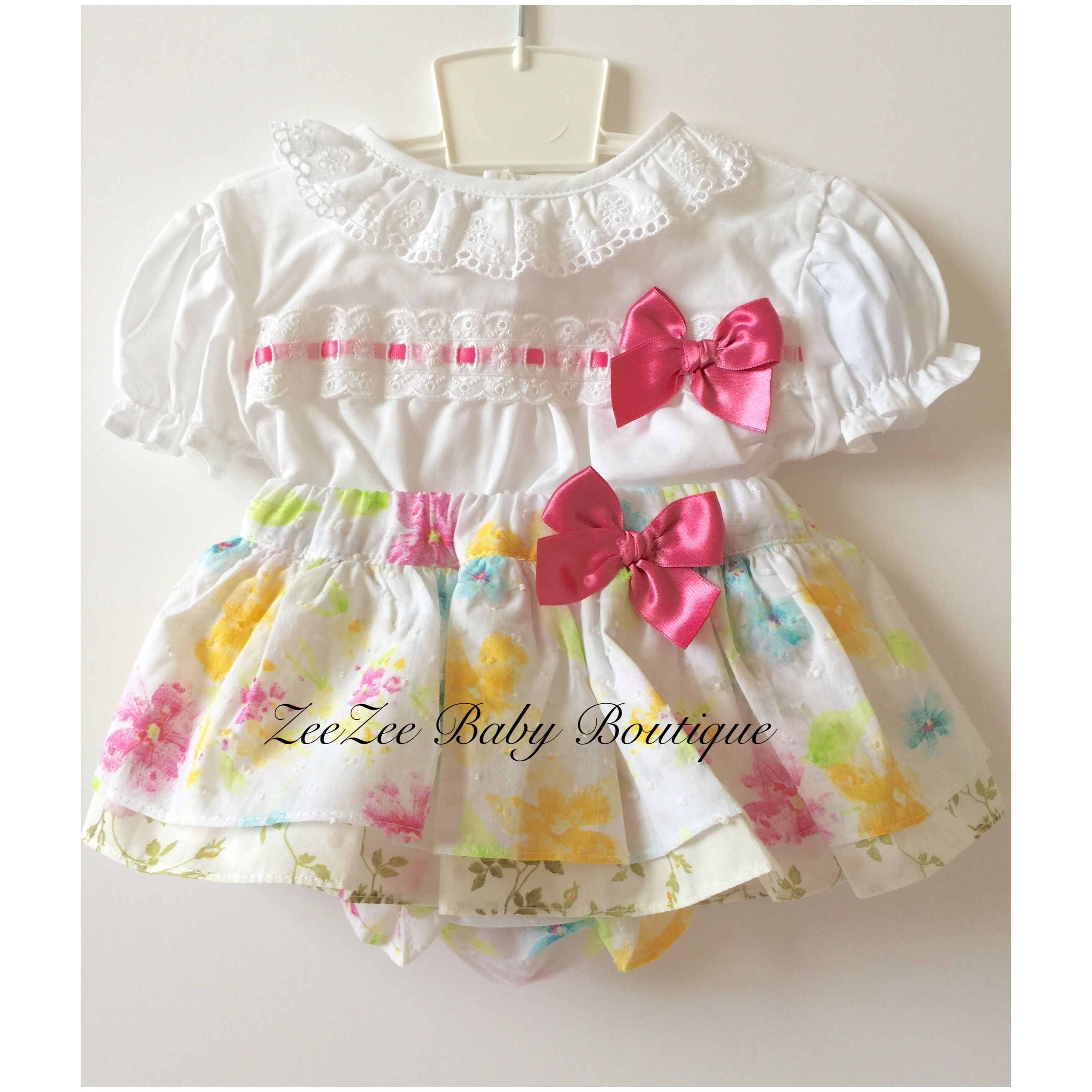 Two piece spanish skirt set available to order online
