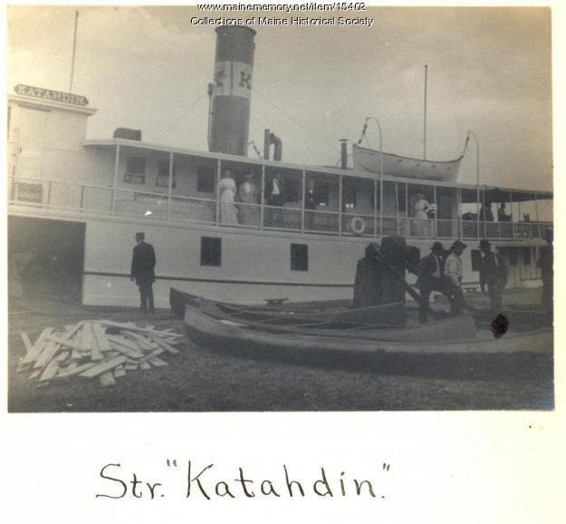 Steamer Katahdin, Moosehead Lake, 1911