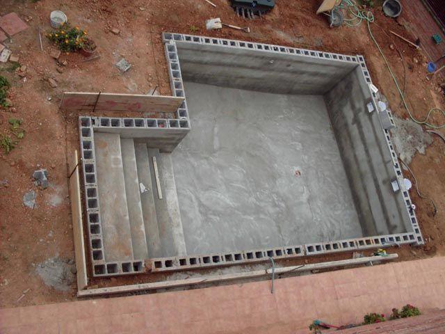 Resultado de imagen de piscinas elevadas obra piscinas for Como construir una alberca paso a paso