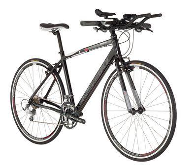 Diamondback Interval Bike With Aero Bars Displayed Very