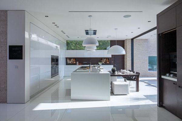 Küchengestaltung mit Schiefer und Naturstein Granit - arbeitsplatte küche granit