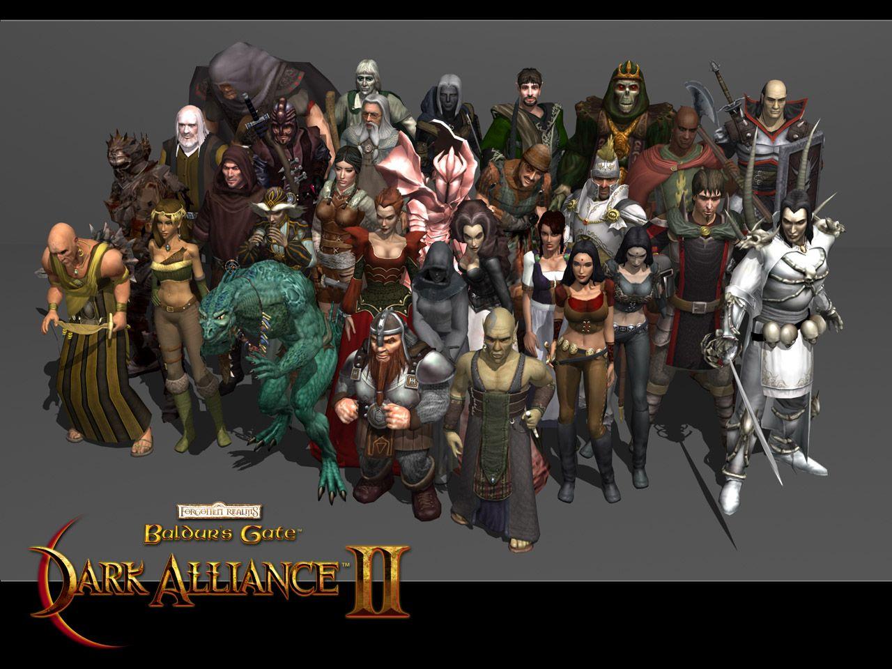 Baldur S Gate Dark Alliance Ii With Images Star Fox Baldur S