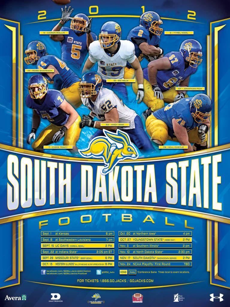 south dakota state university football roster