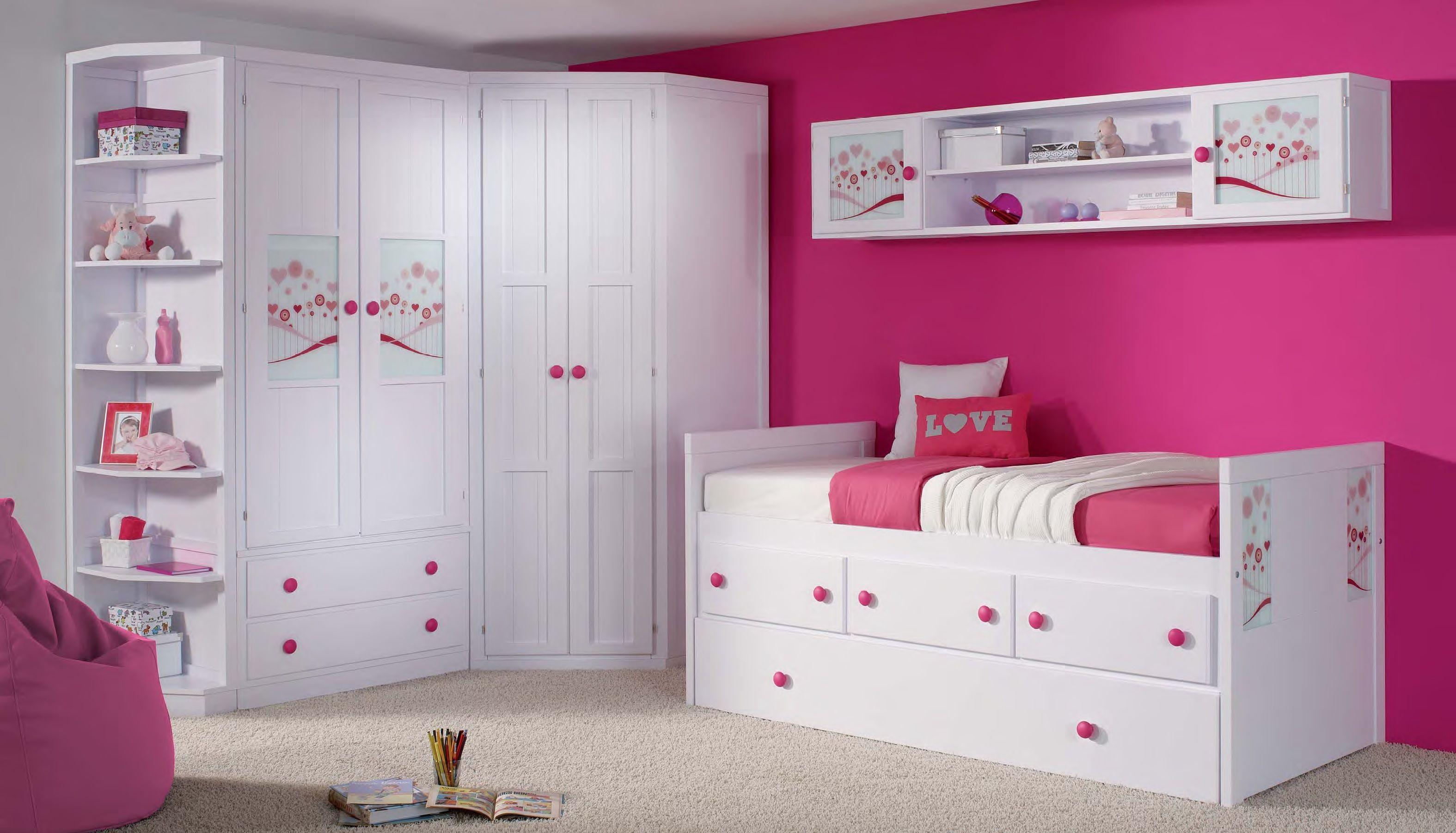 habitaci n de ni a rosa lila habitaciones Pinterest