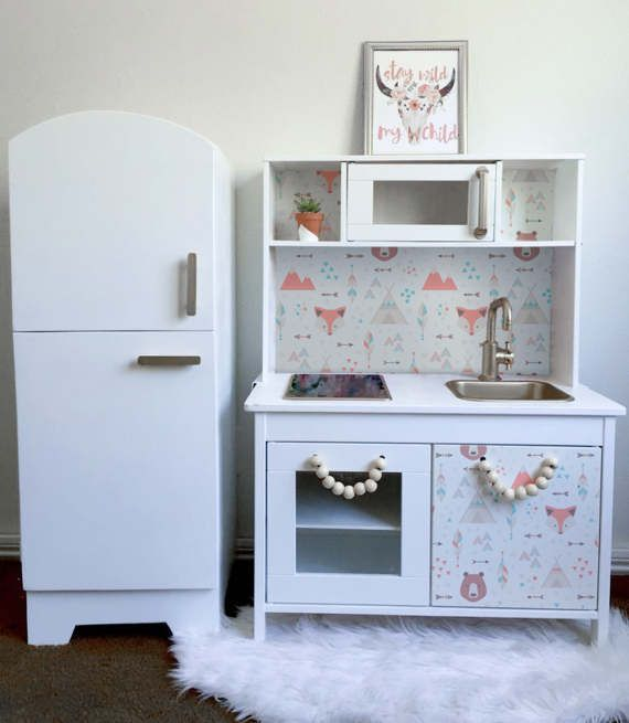 IKEA Hack: Building Your Child\'s Dream DUKTIG Play Kitchen | Ikea ...