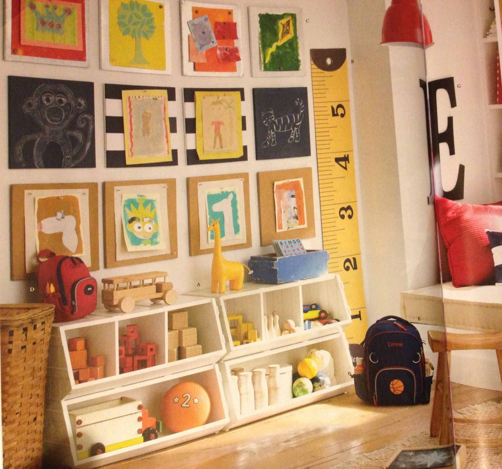 Play Room Idea The Ruler For Growth Chart Kid Playroomplayroom