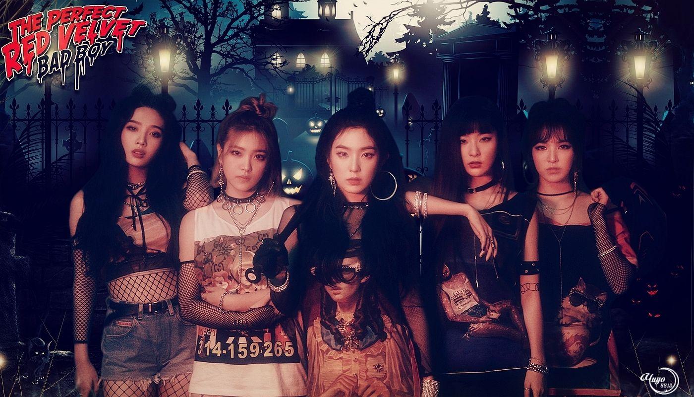 Red Velvet Badboy Comeback Irene Joy Kpop Png Red Redvelvet Render Velvet Wallpaper Wendy Yeri Seulgi Lockscr Red Velvet Red Velvet Irene Velvet