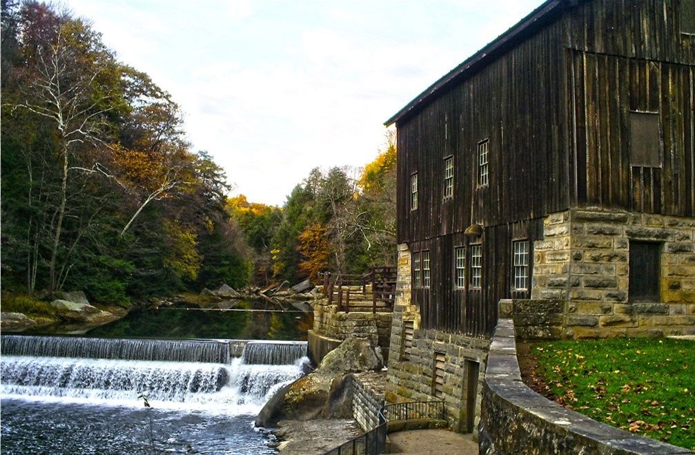 McConnells Mill State Park located in Lawrence County on