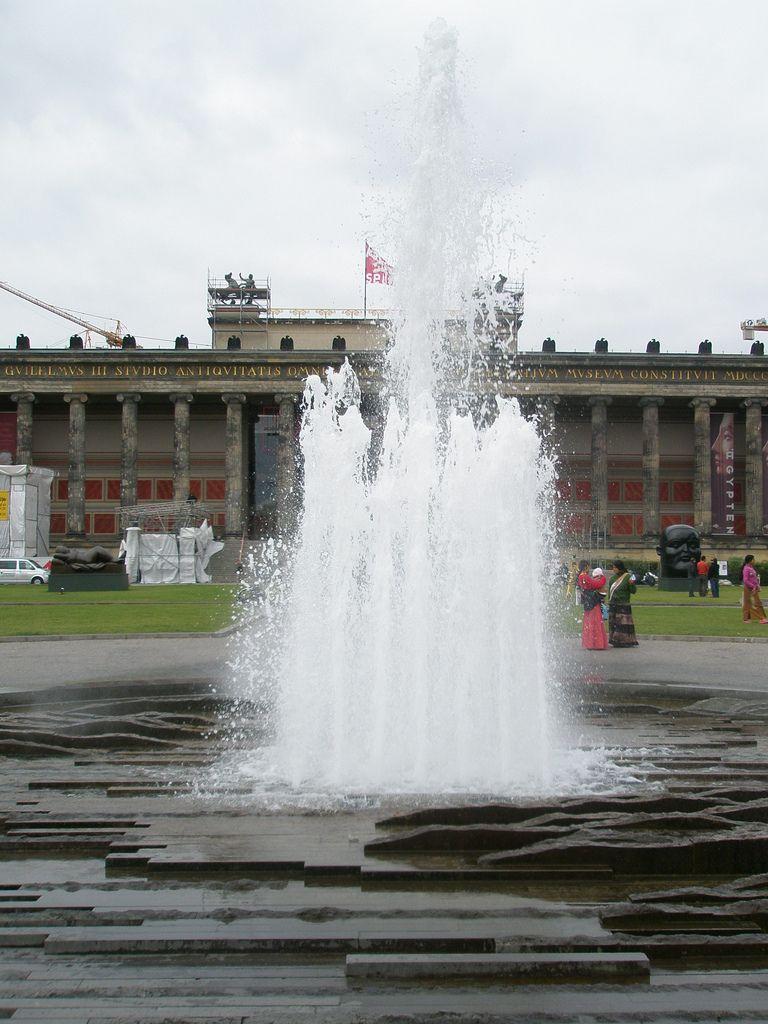 Hans Loidl Moderner Brunnen Modern Fountain Lustgarten
