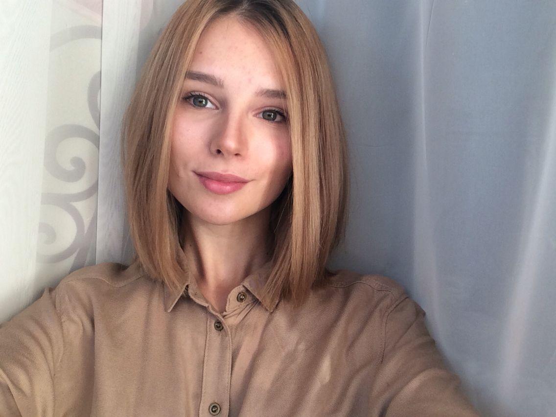 Порно девочка с каре