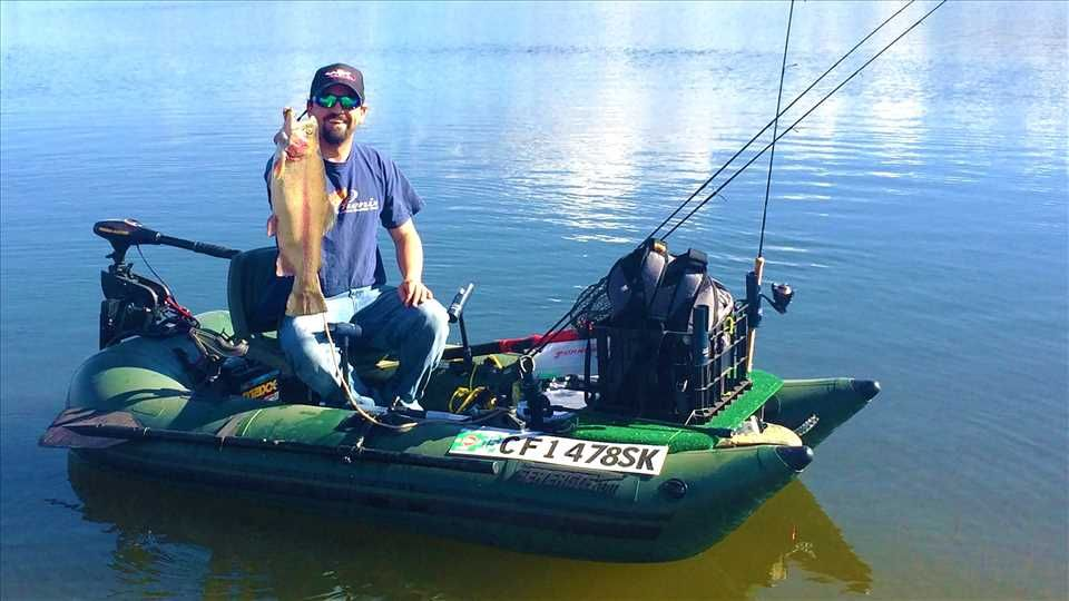 Sea Eagle 285fpb 1 Person Inflatable Fishing Boat Package Prices Starting At 799 Plus Free Shipping Inflatable Pontoon Boats Pontoon Boat Best Pontoon Boats