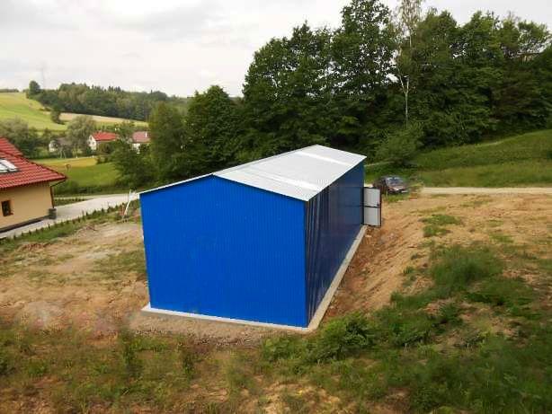 Fertiggarage blech  Details zu Blechgarage Fertiggarage Stahlhalle Garage Halle aus ...