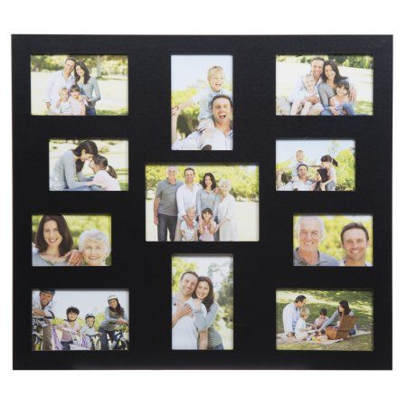 Home Collage Frames Frame Wall Collage Black Picture Frames