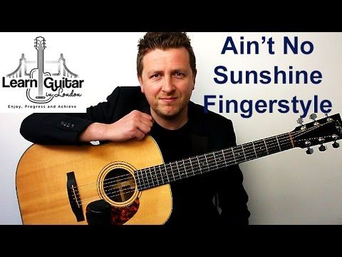 Fingerstyle instrumental guitar tutorial with free TAB for Ain\'t No ...