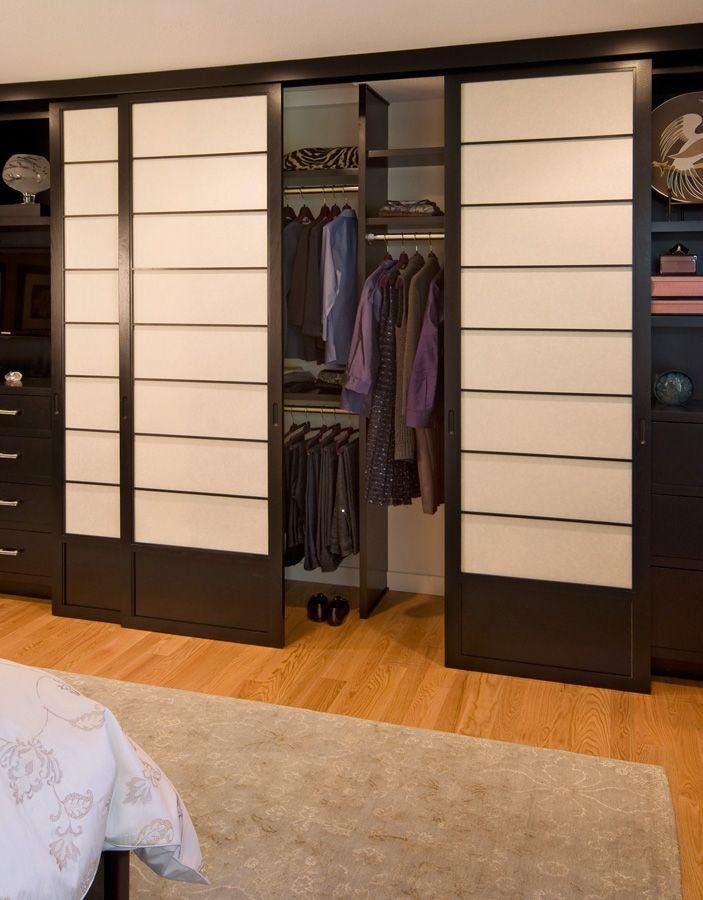 Cherry Tree Design Shoji Closet Doors | Shoji Closet 134