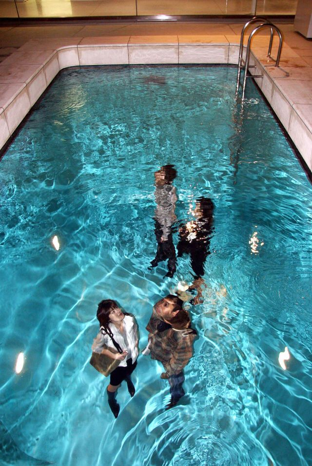 Sorry You Can T Actually Take A Dip In This Swimming Pool Swimming Pool Art Pool Art Water Architecture