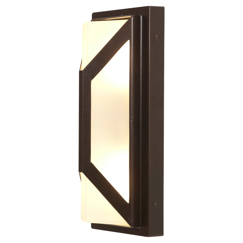Nyami marine grade led outdoor wall light bronze products