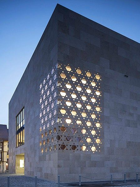 Contemporary Worship Ulm Synagogue is part of Landscape architecture Plan Hotel - Founded in 1992, Colognebased Kister Scheithauer Gross Architekten und Stadtplaner has worked on religious projects across a variety of denominations