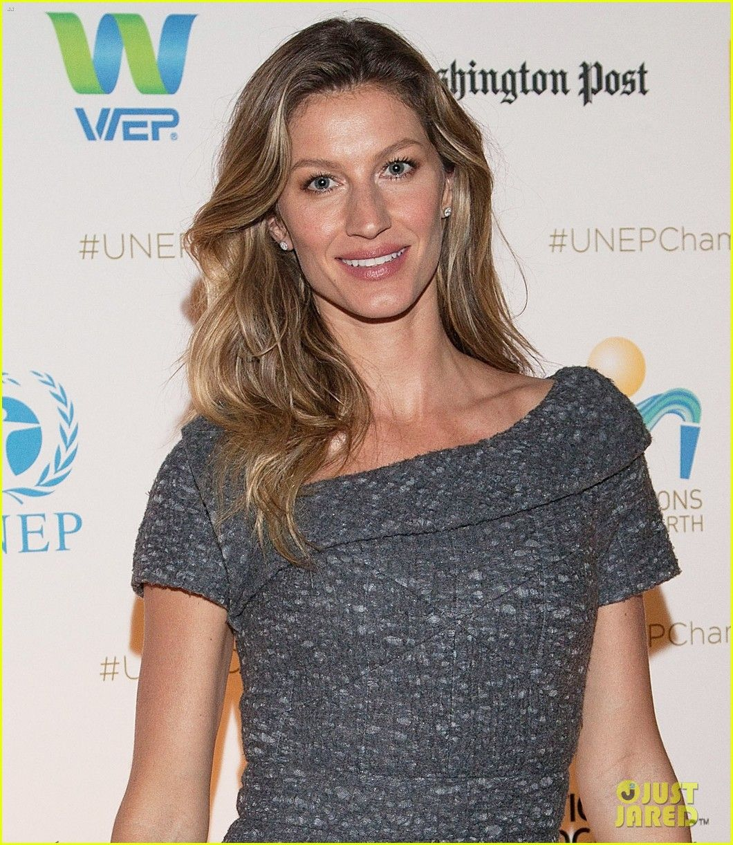 Gisele bundchen hits washington in style for uneps gisele