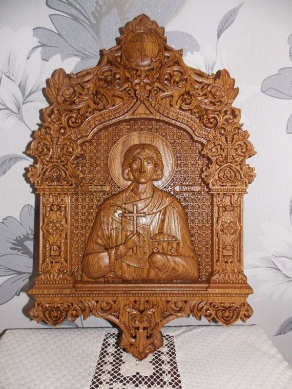 Valery wooden carved religious wall art orthodox icon woodcarvingsreligiousiconwoodworkingreligiousgift