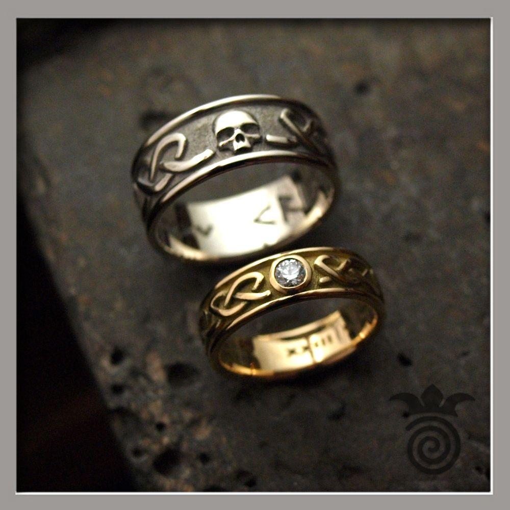 Nouveau S925 pur Argent sterling Bande Hommes Fashion tête de dragon ring US 6-12 32 mm
