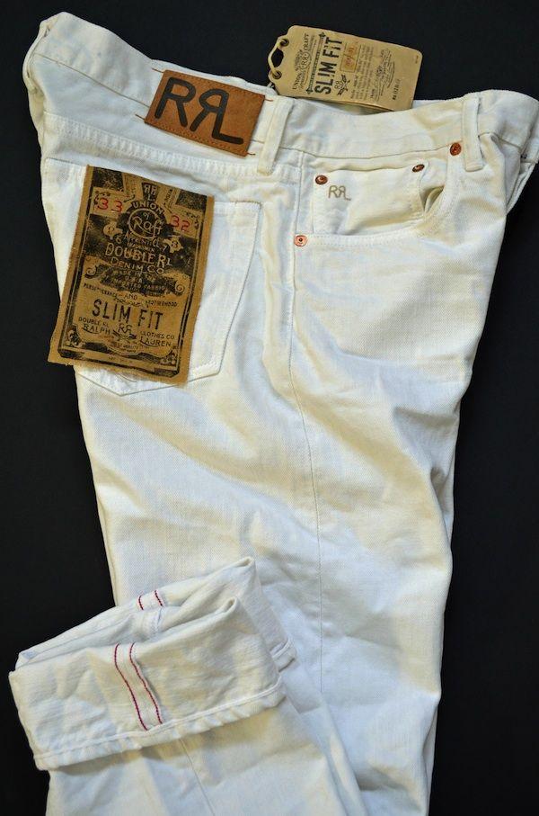 RRL Denim Jeans: Kanye