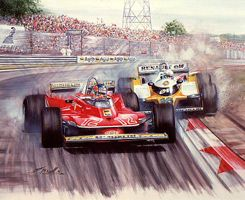 Villeneuve vs Arnoux, Digione 1979