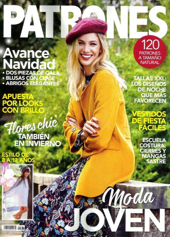 Back issue of PATRONES magazine 367 Moda JOVEN | Books