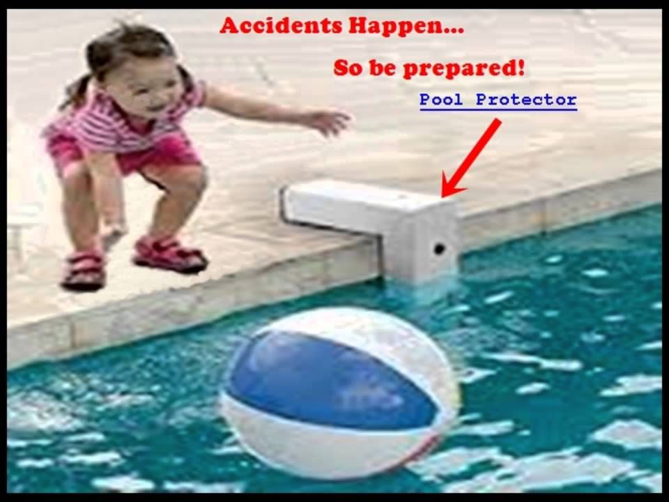 The Pool Protector Saves Lives A Video About Pool Drowning Prevention And The Pool Protector Pool Alarm Safe Pool Pool Alarms Swimming Pool Safety