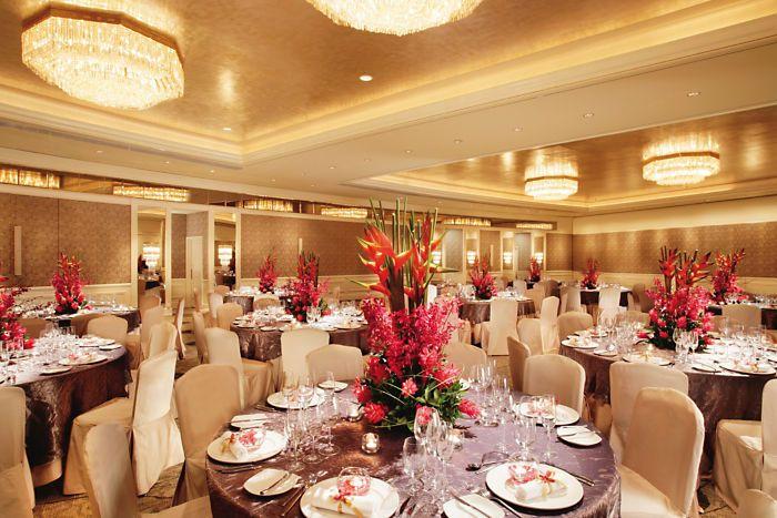 The Ballroom At Mandarin Oriental Singapore