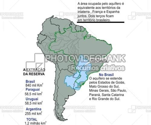 Rio Parana Brazil Location Map PHOTOVIDEOBANK Paraná River At - Parana river map