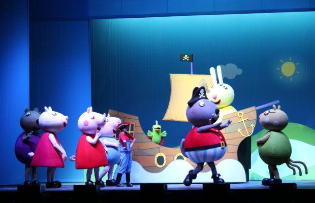 Leche Milex Kinder Gold auspicia el ShowPeppa Pig