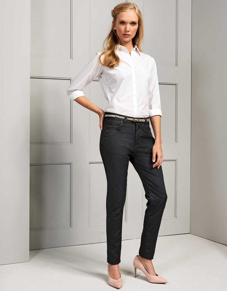 Damen Performance Chino Jeans Berufsbekleidung Bekleidung Hosen