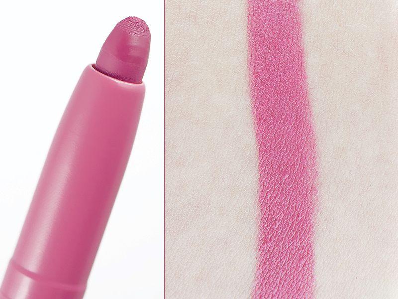 Lip Studio Color Blur I'm Blushing - Maybelline #blog #beauté #blogbeauté #blogueusebeauté #beauty #beautyblog #beautyblogger #bblogger #maquillage #makeup #lèvres #lips #crayon #jumbo #rougeàlèvres #OmbréLips #LipStudio #ColorBlur #ImBlushing #BornWithIt #Maybelline #revue #test #avis #swatch http://mamzelleboom.com/2015/10/22/nouveautes-maquillage-maybelline-palette-fards-a-paupieres-neutres-roses-the-blushed-nudes-crayon-jumbo-a-levres-semi-mat-ombre-lips-degrade-lip-studio-color-blur/