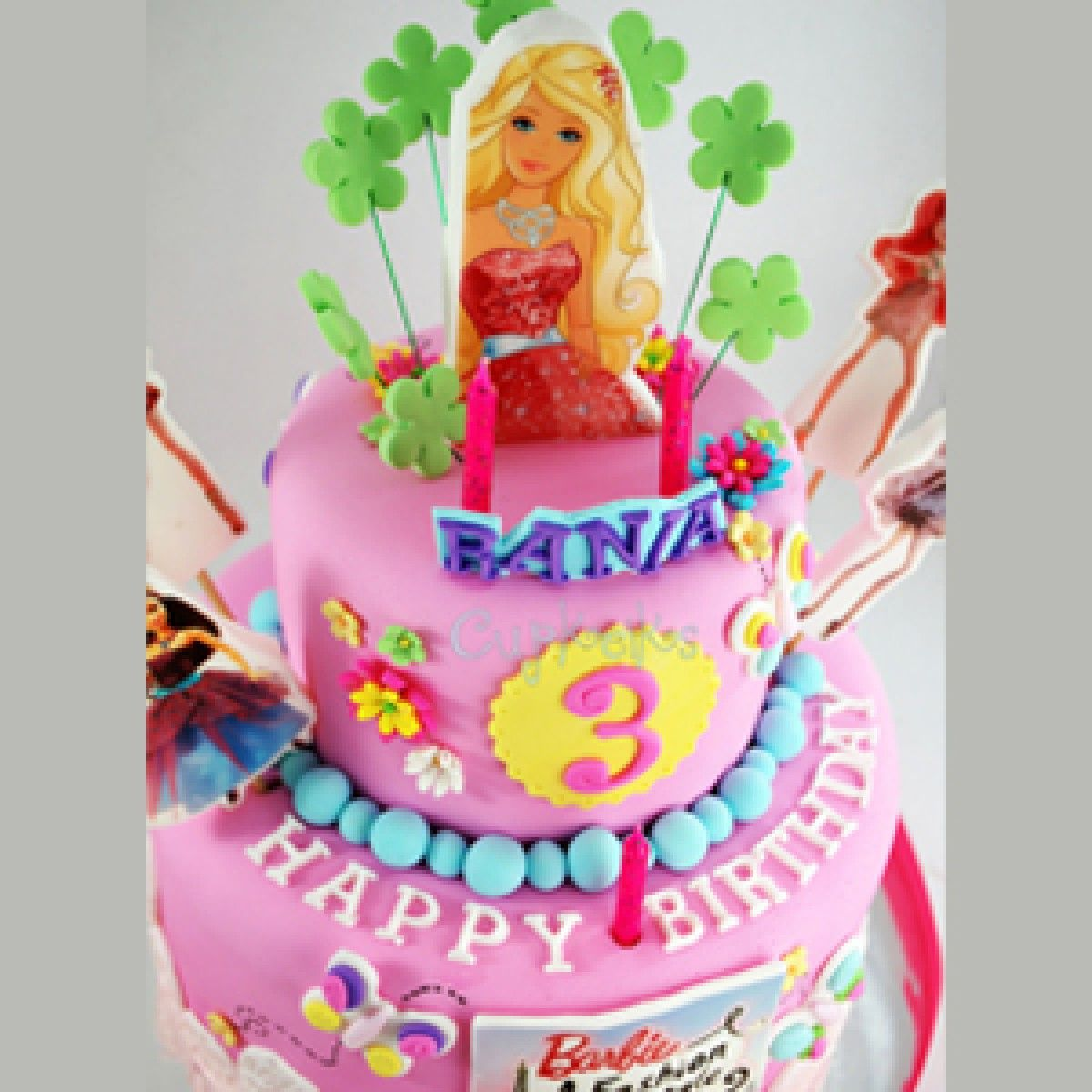 27 Excellent Image Of Order Birthday Cakes Online Barbie Doll Cake In Bangalore