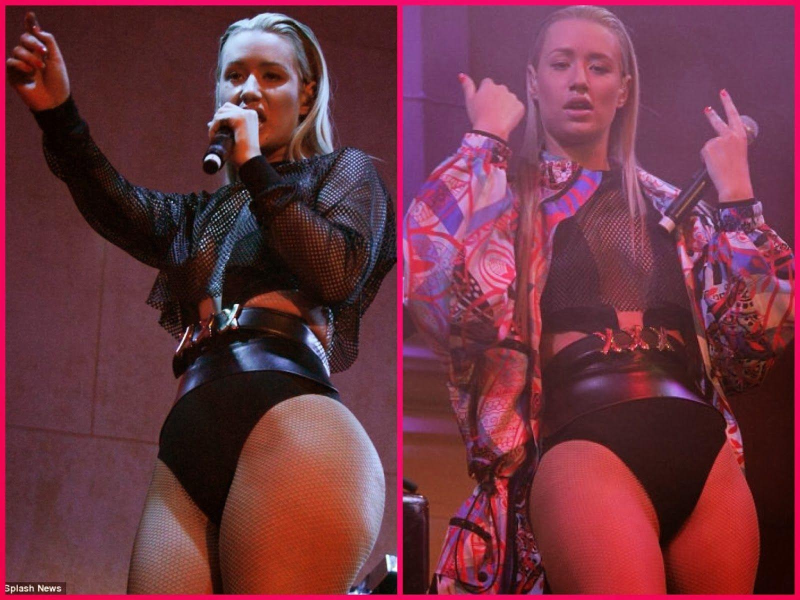 Iggy Azalea vs Nicki Minaj | Rapper Iggy Azalea Ass Vs ...