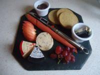 Three Cheese Platter.