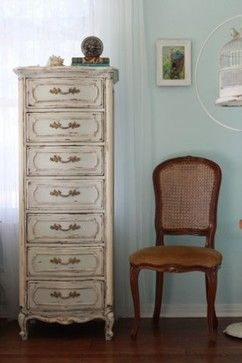 Vintage French Provincial Lingerie Chest traditional dressers ...