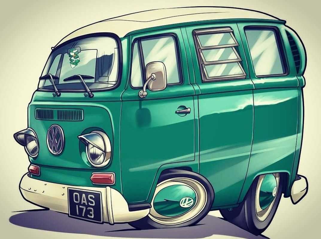 pingl par florent sur vw pinterest dessin voiture carton et voitures. Black Bedroom Furniture Sets. Home Design Ideas