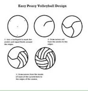 Volleyball Decorated Cookies How To Bing Images Volleyball Cookies Volleyball Cupcakes Volleyball Cakes