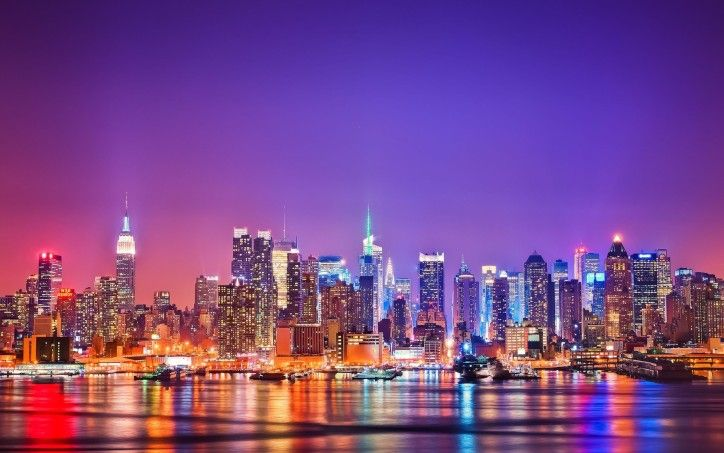 New York Skyline Wallpaper HD 5 City High Resolution