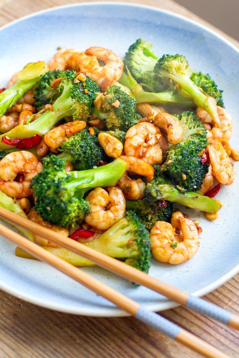 Prawn Stir-Fry With Broccoli & Cashew Nut - Irena Macri | Food Fit For Life