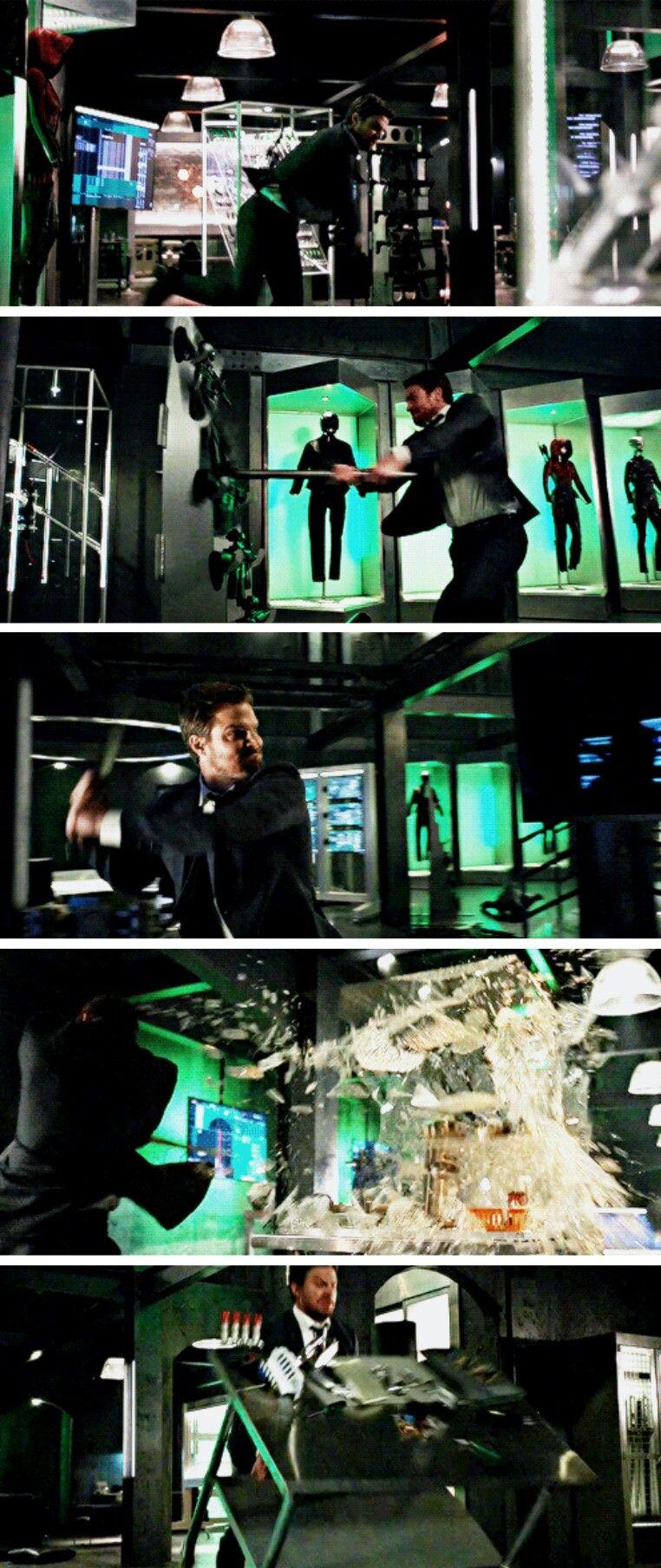 When you're having a bad day! #Arrow #Season5 #5x16