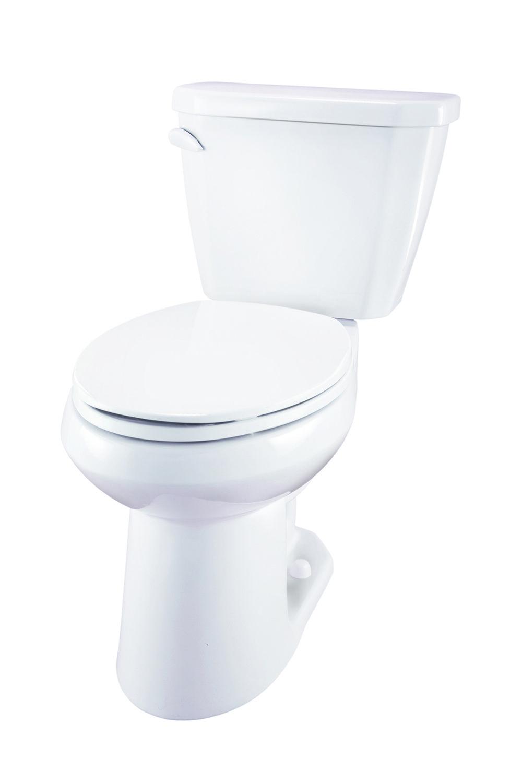 Viper 1 28 Gpf 12 Rough In Two Piece Elongated Ergoheight Toilet Gerber Plumbing Toilet Plumbing Bathroom Fixtures