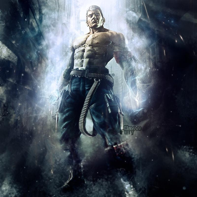 Bryan Fury Bryan Fury Martial Arts Games Character Portraits