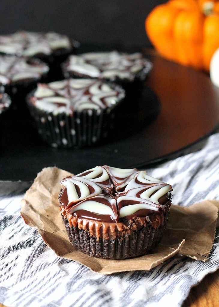 Death By Chocolate Mini Cheesecakes