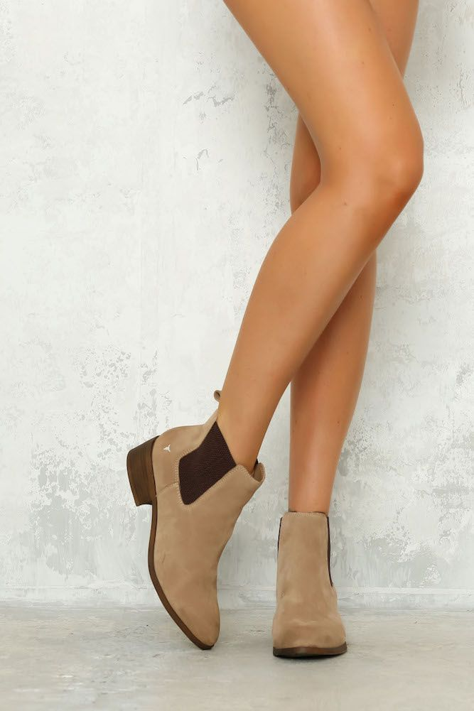 98a0ac12ac8 WINDSOR SMITH Ravee Boot Cashew Suede in 2019 | Shoes | Shoes, Boots ...