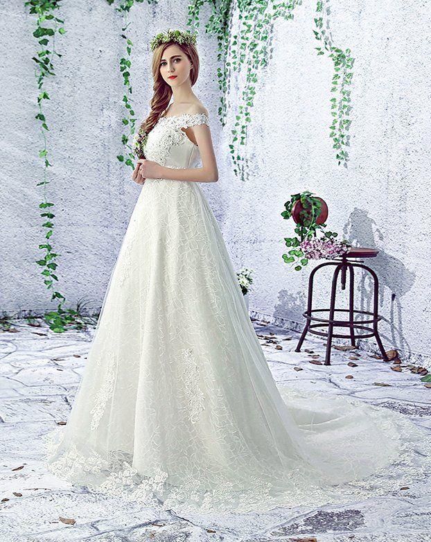 New Lace Wedding Dress any size custom Bohemian Boho bead Bridal ...